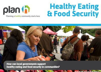 Healthy Eating & Food Security Action Guide